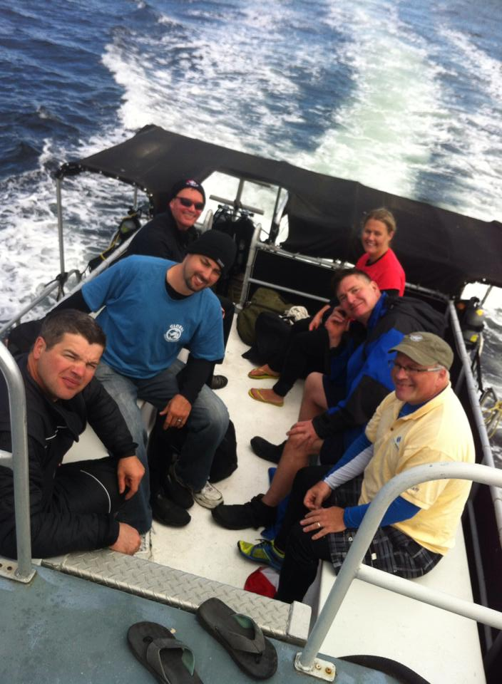 New LTD Wreck Diver Graduate Jeff Kosar. Hosted by Sea Dragon Dive Charters.
